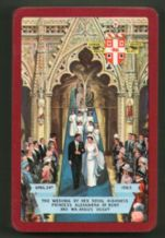 Collectible  Worshipful playing cards 1963 Princess Alexandra